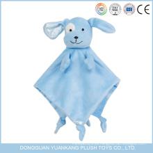 manta con capucha animal suave segura de la toalla de la cara del bebé del elefante en precio de fábrica