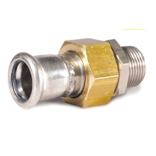 42*1 1/2 En 316L Joint Connector Male X Press