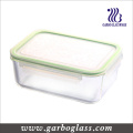 High Borosilicate Pyrex Glass Bowl with Airtight Lid