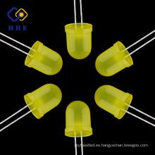 La inmersión oval difundida amarilla de alta calidad de la fábrica 10m m llevó