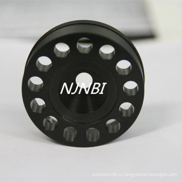 Черные анодированные обрабатывающие детали