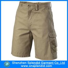 2016 nova moda casual algodão puro mens shorts