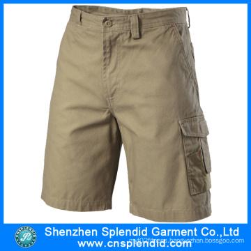 2016 New Fashion Casual Pure Cotton Cargo Mens Shorts