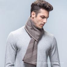 Мужская мода полосатый шерсть акриловые тканые шарф зимы (YKY4613)
