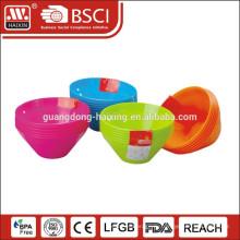 Высокое качество оптовой пластиковые контейнеры Салатница