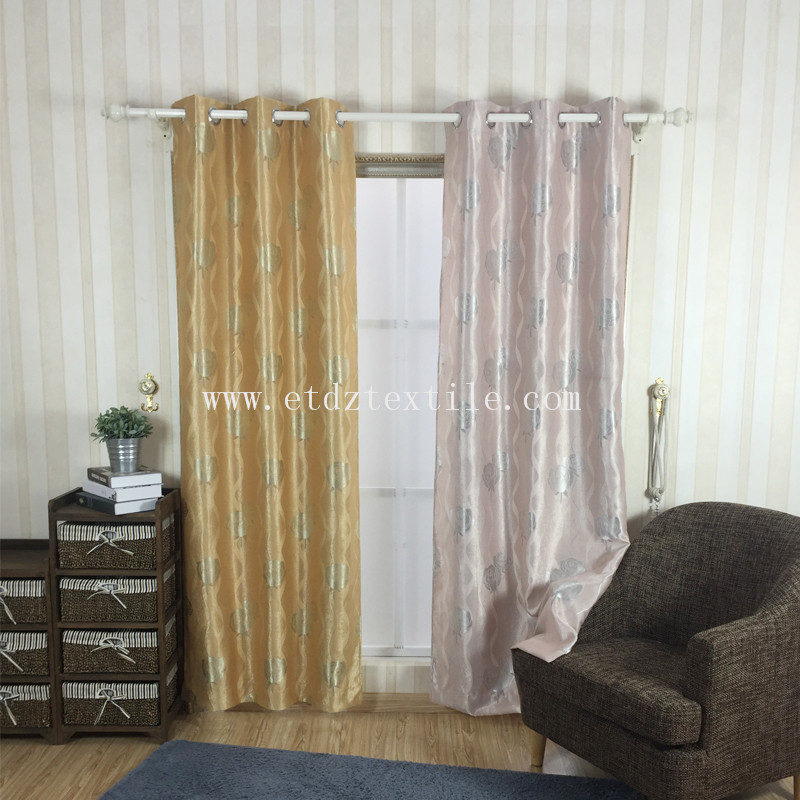 JACQUARD BLACKOUT CURTAIN