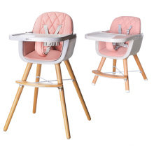 Plastic And Wooden Chair For Kids