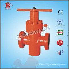 Wellhead gate valve