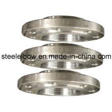 Flange de fio de aço inoxidável/aço carbono forjado
