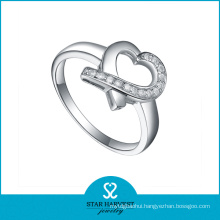 Personalized Valentine 925 Sterling Silver Ring Design (R-0391)