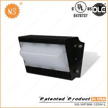 UL Dlc Listado Outdoor 120W LED Wall Pack Light
