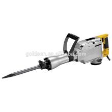 65mm 1520w mini máquina de perforación del martillo de la rotura del martillo de la demolición del concreto de la martilleo de la energía pesada