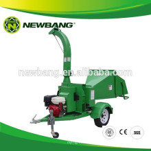 13HP Trailer Mounted Wood Chipper