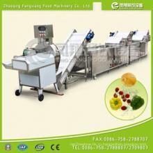 Автоматическая линия по очистке овощей и фруктов (CWA-2000)