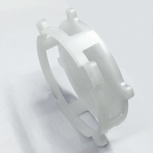CNC machining of plastic