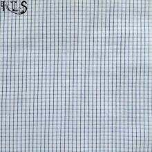 100% Cotton Jacquard Yarn Dyed Fabric for Garments Shirts Dress Rls40-15po