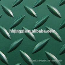 Green Anti-slip Diamond Rubber Sheet