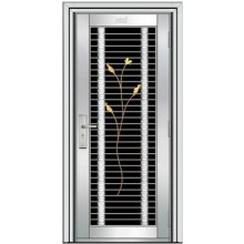puerta exterior de acero inoxidable