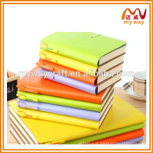 Artigos de papelaria de escritório de impressão de notebook PU de alto grau