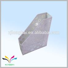 Metal de nieve blanca de hierro forjado de una sola línea de colgar archivos de archivo de metal bastidores zhejaing fábrica