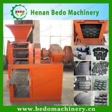 2015 mais popular Multi-função de forma redonda de carvão de churrasco que faz a máquina na china com CE 008613253417552