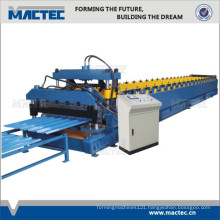 Most popular double sheet glazed tile roll forming machine