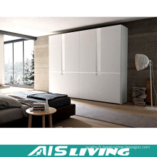 Placard en bois moderne fait sur commande de garde-robe de chambres à coucher (AIS-W331)