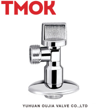 chromed plated stainless steel sanitary quick opening angle valve