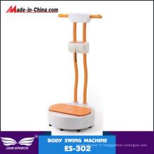 Plaque de vibration plus mince de corps chaud d'équipement de forme physique de vente pour des adultes