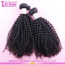 Новый разработанный Джерри вьющиеся волосы переплетения 100% необработанные девственница монгольский вьющиеся волосы переплетения