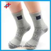 gray sport socks compression mens sock custom logo