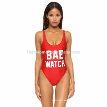 Women's Plus Size One-Piece Swimwear Euro Size Swimsuit