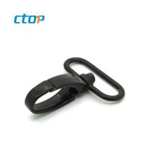 Professional manufacturer buckles black d ring spring purse plastic snap hook dog hook handbag hook