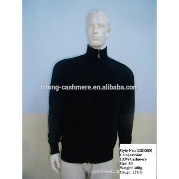 homem tricô camisola de caxemira