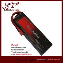 Flamme LiFePO4 3000mAh 9.9V15c Plus de batterie