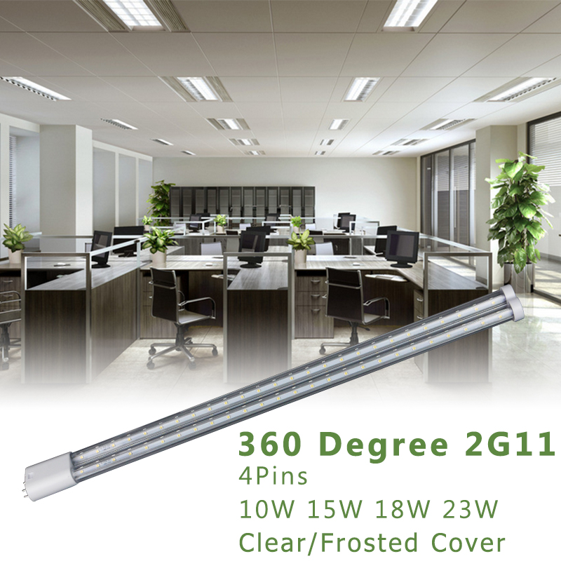 Tubo de luz LED 2G11 4PIN 15W