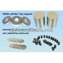 Sintered Customized Neodymium Cylinder magnets