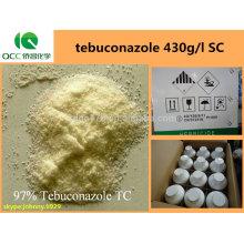 Producto fitosanitario / fungicidas agroquímicos recubrimiento de semillas tebuconazol 430g / l SC, CAS: 107534-96-3 -lq