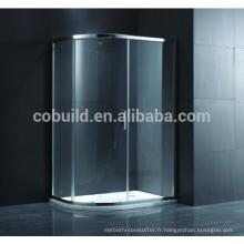 K-554 chine alibaba vente chaude mode complète salle de douche avec cadre cabine de douche flexible