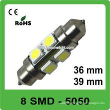Car interior light 12V led auto festoon bulb 36mm