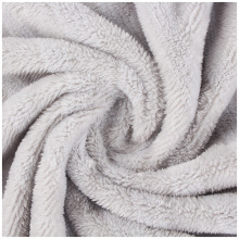 Factory Polyester Jacquard Cationic Flannel Fleece Fabric
