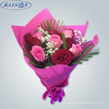 flower packaging materials non-woven fabric flower wrapping paper waterproof
