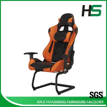 2016 Modern Orange Custom Racing Sitz Stuhl Heißer Verkauf in Europa
