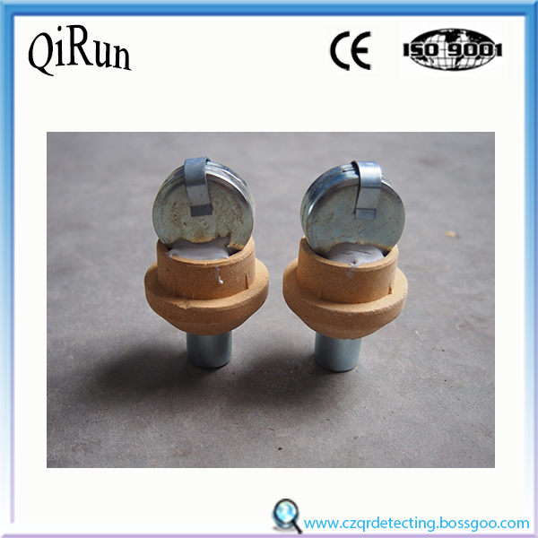 round shape molten steel sampler