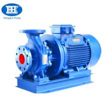 Horizontal shaft surface chill water pump