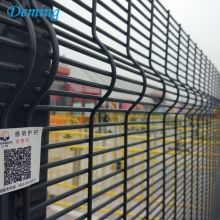 PVC Coated Prison Anti Climb Metal Fence Panels