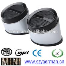 2015 Nuevo altavoz vendedor caliente de las multimedias del USB 2.0 de la llegada mini