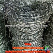 Galvanized concertina barbed wire rolls
