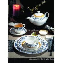 A069 High quality lead free fine bone china dinnerware set