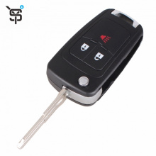 Factory price folding remote key shell for Chevrolet replacement key shell YS200426